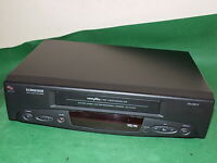 SCHNEIDER SVC215 Video Cassette Recorder VHS Smart VCR BLACK FULLY TESTED