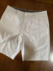 O'Neill casual shorts size 36 NEW light and dark gray pattern