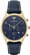 NEW EMPORIO ARMANI AR1862 MENS BETA CHRONOGRAPH  WATCH - 2 YEAR WARRANTY