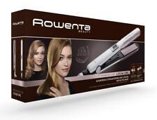 Rowenta Liss & Curl SF7660F0 Plancha de pelo Función 2 en 1 Alisadora y Rizadora