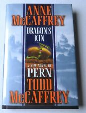 Anne & Todd McCaffrey Signed Autographed Hardcover Book Dragon's Kin GV907046