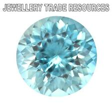 "Natural Aquamarine a 6mm Round Cut Gem GEMSTONE ""a"" Grade"