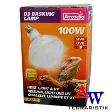 Arcadia D3 UV Basking Lamp 100W - UVA / UVB Strahler