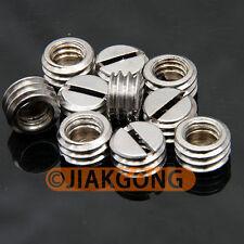 "10pcs 1/4"" Female to 3/8"" Male screw Adapter TN-3"