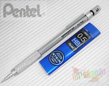 Pentel Graphgear 500 PG515-A 0.5mm automatic pencil + 1 tube HB pencil leads