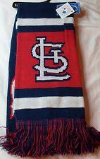 "NWT MLB 2012 TEAM STRIPE ACRYLIC SCARF 64""x7"" - ST. LOUIS CARDINALS"