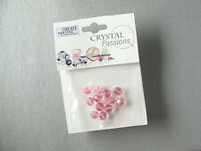 12 x 6 mm round Light Rose AB Swarovski Crystal Beads