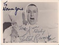 ETHEL REVNELL ~ AUTOGRAPH HAND SIGNED POSTCARD ~ UP WITH THE LARK ~ BALLOON UP