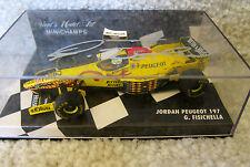 GIANCARLO FISICHELLA AUTOGRAPHED F1 1997 JORDAN 197 PEUGEOT #12 MINICHAMPS