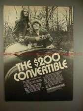 1970 Miranda Sensomat Camera Ad - The $200 Convertible!