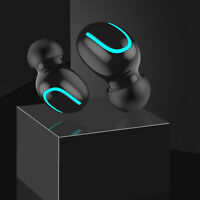2600mAh TWS Wireless Headphones Earbuds Headset 5.0 Stereo With Charging Case