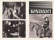 HORSE SOLDIERS-JOHN WAYNE/JOHN FORD-2 ORIGINAL YUGOSLAV MOVIE PROGRAMS 1959