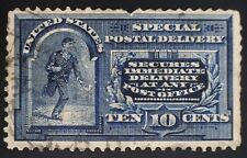 CatalinaStamps: US Stamp #E5 Used Pulled Perf., SCV=$110, Lot #A34