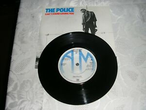 THE POLICE CAN'T STAND LOSING YOU EX CON ORIGANAL 1978 RECORD / VINYL