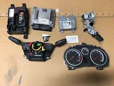 VAUXHALL CORSA 1.3 CDTI ENGINE ECU KIT WITH LOCK 55580270 A13DTC #57 2010 - 2014