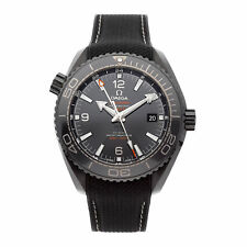 Omega Seamster Planet Ocean 600m GMT Auto Ceramic Mens Watch 215.92.46.22.01.001
