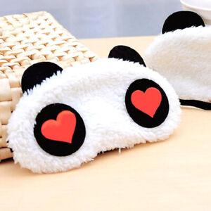 Soft Cute Panda Nap Blindfold Eye Cover Light Proof Panda Cover Comfortable 1PC