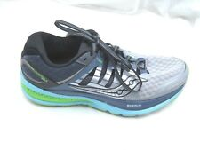 Saucony size 9M Triumph Iso 2 gray black running  womens ladies athletic shoes