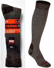 Wolverine Men's Merino Wool Blend Over-the-Calf Boot Socks, Large, 2 pr $14.95