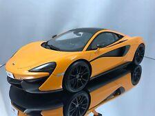 Top Speed / TSM McLaren 570S Orange & Black Sealed Resin Car Model 1/18