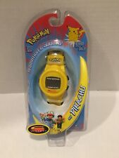 Pokemon Pikachu #25 C Watch Animation and Sounds New Old Stock