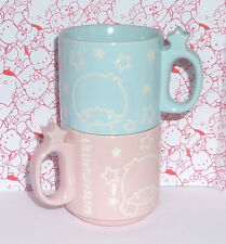 New Sealed Sanrio Little Twin Stars Stacking Mug Set Loot Crate Exclusive! 2017