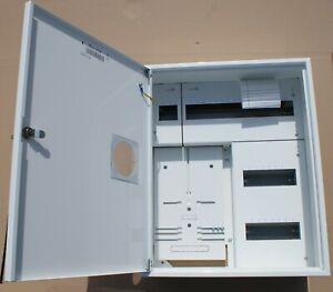 Sicherungskasten Zählerschrank Verteilerkasten 1x Zähler 1-Ph+36 Sicherungen