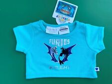 Build a Bear How To Train Your Dragon BlueFuries In Flight T-Shirt - New