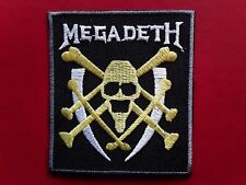 MEGADETH HEAVY METAL ROCK MUSIC AMERICAN QUALITY BAND EMBROIDERED PATCH UKSELLER