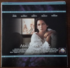 LASERDISC Movie: HOW TO MAKE AN AMERICAN QUILT - Winona Ryder - Collectible