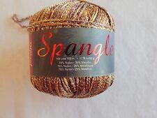 Premier Yarns Spangle Silver Sunshine 184 yds 75% Nylon 25% Metallic Lot 4620 #1