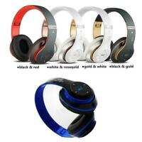 V4.1 Wireless Headphones Bluetooth Headset Noise Cancelling Over Ear Mode J9S3