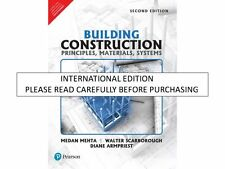 Building Construction : Principles, Materials, and Systems by Medan Mehta, Di...