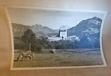 1947+ RPPC Postcard Germany Castle Nazi School COWS Alps Photo A Deidl Sonthofen