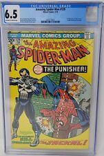 Amazing Spiderman #129 CGC 6.5 Nice centered Punisher  Marvel NO RESERVE 🔥MCU