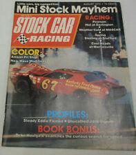 Stock Car Racing Magazine Steady Eddie Flemke August 1973 NO ML 072014R