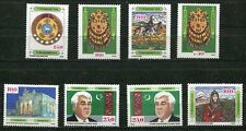 TURKMENISTAN 1992 FIRST STAMPS - HORSES - JEWELRY - COSTUMES SET - $5.50 VALUE!
