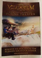 Freizeitpark Europa-Park Rust. Werbeheft von 2017 über Voletarium.
