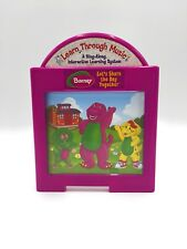 Learn Through Music  Barney's  Cartridge Mattel