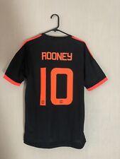 Rooney #10 Manchester United 3rd Medium Football Shirt Adidas 2015/16 BNWT