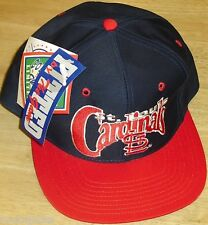 St. Louis Cardinals hat Vintage 90s Fitted sz. 7 1/2 THE GAME New with Tags! MLB