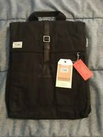TOMS Backpack NWT Black Wax Canvas - Padded Tech Utility Pockets NWT