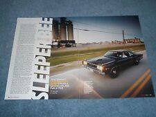 "1968 Dodge Super Bee 572 Hemi Powered Article ""Sleeper Bee"""