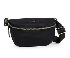 Kate Spade Nylon watson lane betty Belt Bag Fanny Pack Crossbody ~NWT Black~