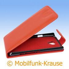 Flip Case Etui Handytasche Tasche Hülle f. Sony LT30 / LT30p (Rot)