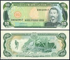DOMINICAN REPUBLIC 10 Pesos oro 1990 Pick 132  SC / UNC
