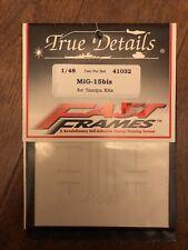 True Details 41032 Fast Frames for 1/48 Scale Tamiya Mig-15bis