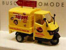 1/87 Busch Piaggio APE 50 Bäckerei Sippel 48471
