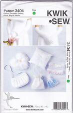 Kwik Sew 3404 Sewing Pattern Wedding Gloves, Garters, Purse, Ring Bearer Pillow