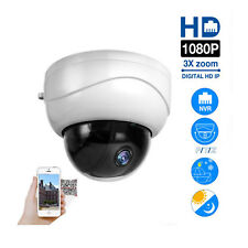 Outdoor PTZ Dome 3X Optical Zoom IP Camera Network CCTV 1080P IR Night Security
